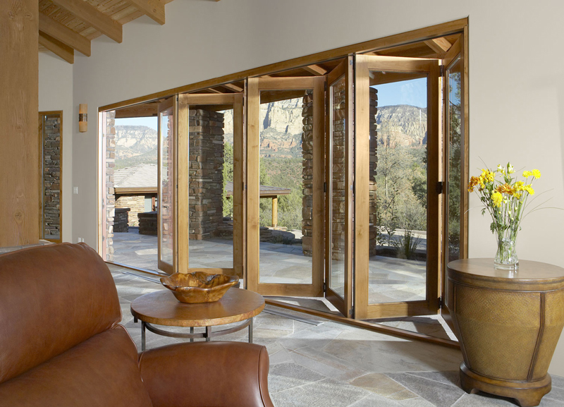 Hurd Bi-fold retractable doors
